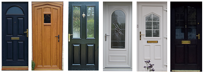 Double glazed front door designs double glazed doors - Upvc double front exterior doors ...