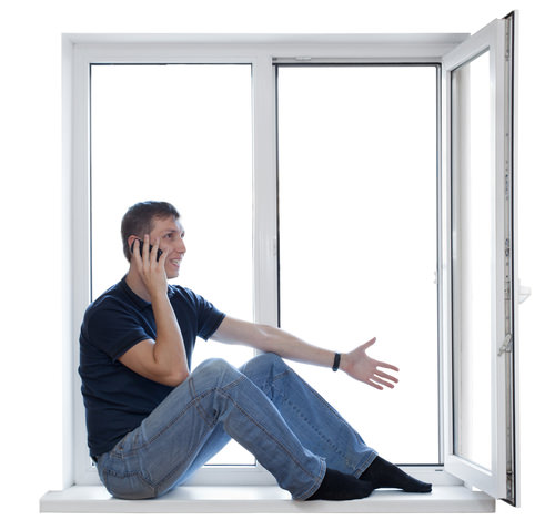 cheap UPVC window