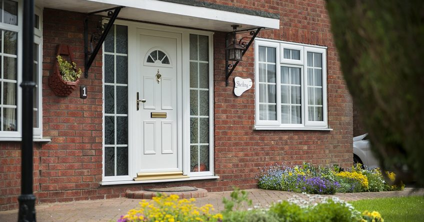 upvc front door costs